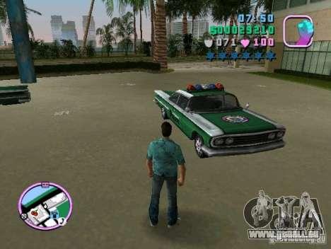 Voodoo Police für GTA Vice City zurück linke Ansicht