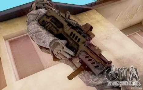 Tavor Ctar-21 de : warface pour GTA San Andreas deuxième écran