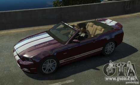 Ford Mustang GT Convertible 2013 pour GTA 4