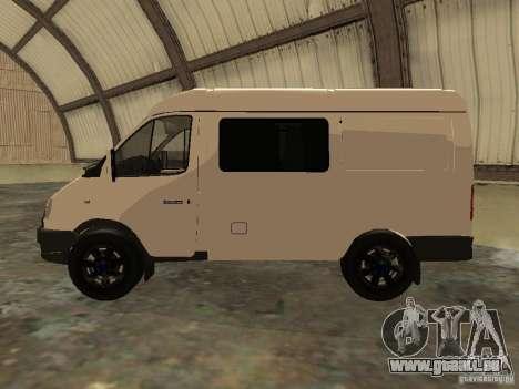 GAZ 2752 Sobol Business pour GTA San Andreas laissé vue