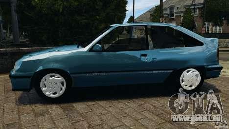 Chevrolet Kadett GSI pour GTA 4 est une gauche