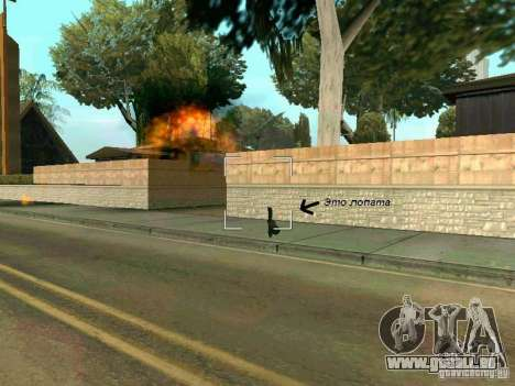 Lopatomët für GTA San Andreas achten Screenshot