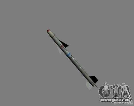 Rakete für GTA San Andreas zweiten Screenshot