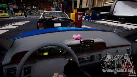 Chevrolet Caprice 1991 LCPD pour GTA 4 est une gauche