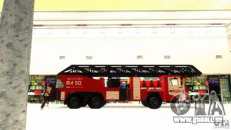 KAMAZ 53229 pour GTA San Andreas sur la vue arrière gauche