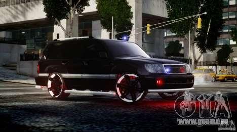 Toyota Land Cruiser 100 pour GTA 4 est une gauche