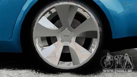 Volkswagen Jetta 2010 pour GTA 4 est une vue de l'intérieur