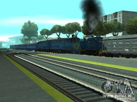 Te7-080 pour GTA San Andreas vue arrière