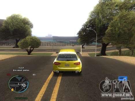 Indicateur de vitesse électronique pour GTA San Andreas sixième écran