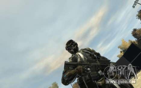 Crysis 3 The Hunter skin für GTA 4 Sekunden Bildschirm