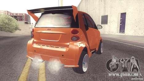 Smart Diablo pour GTA San Andreas vue de droite