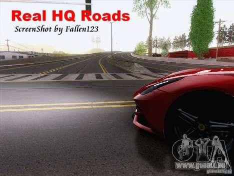 Real HQ Roads für GTA San Andreas