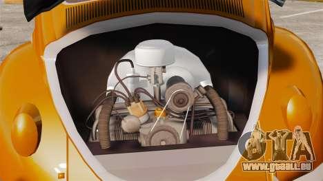 Volkswagen Fusca Edit für GTA 4 Rückansicht