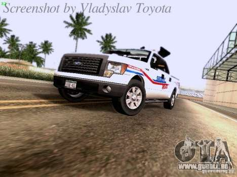 Ford F-150 Road Sheriff pour GTA San Andreas