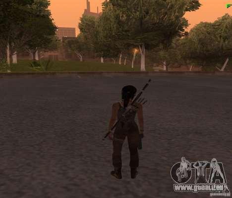 Skin Tomb Raider 2013 pour GTA San Andreas troisième écran