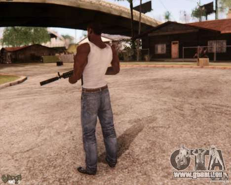 New CJ pour GTA San Andreas quatrième écran