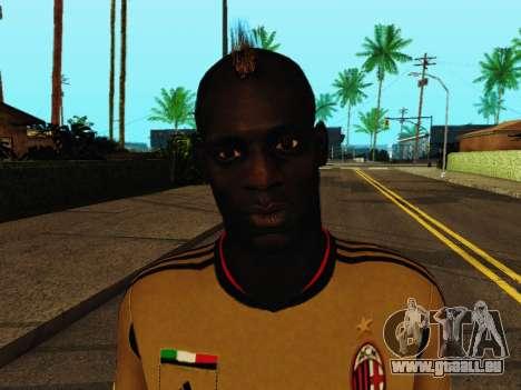 Mario Balotelli v3 für GTA San Andreas sechsten Screenshot