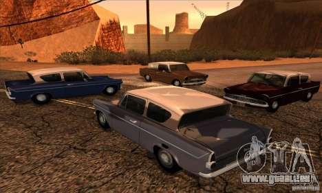 Ford Anglia 1959 pour GTA San Andreas laissé vue