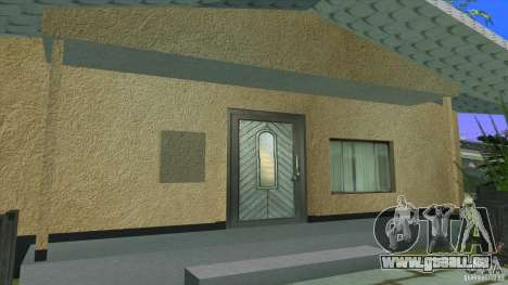 Nouvelles textures House à Los Santos Denis pour GTA San Andreas troisième écran