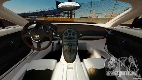 Bugatti Veyron 16.4 Super Sport 2011 [EPM] pour GTA 4 Vue arrière
