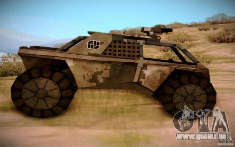 MK-15 Bandit für GTA San Andreas linke Ansicht