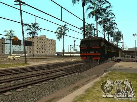 ÈR2R-7750 pour GTA San Andreas vue arrière