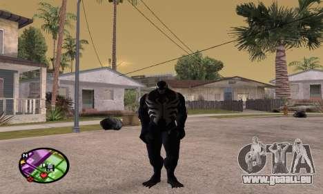 Spider Man and Venom pour GTA San Andreas troisième écran