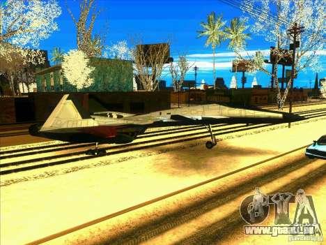 ADFX-02 Morgan für GTA San Andreas Rückansicht