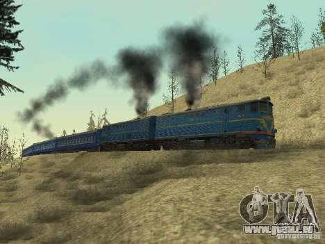 Te7-080 pour GTA San Andreas vue de droite