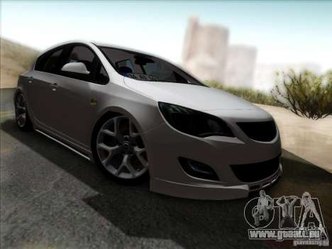 Opel Astra Senner Lower Project pour GTA San Andreas