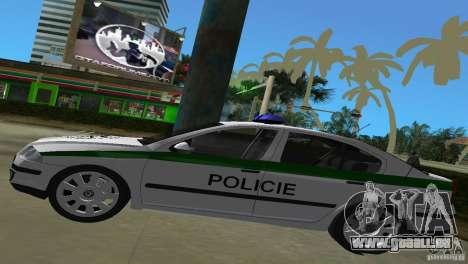 Skoda Octavia 2005 pour GTA Vice City vue arrière