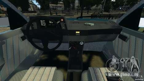 Chevrolet Kadett GSI pour GTA 4 Vue arrière