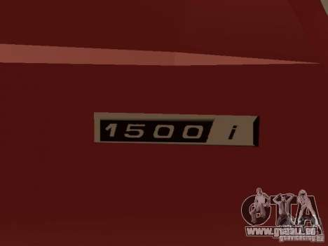 VAZ 2104 v. 2 für GTA San Andreas Innenansicht