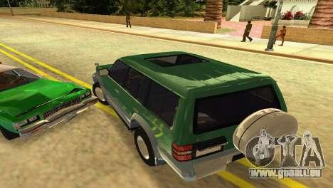 Mitsubishi Pajero 1993 für GTA Vice City rechten Ansicht