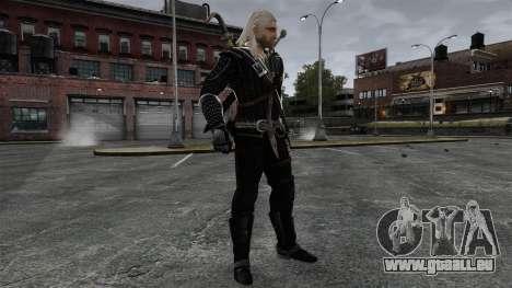 Geralt de Rivia v8 pour GTA 4 cinquième écran