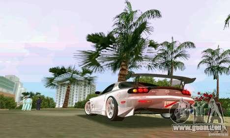 Mazda RX7 tuning pour une vue GTA Vice City de la droite