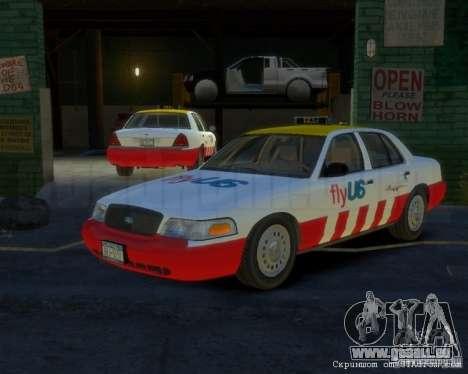Ford Crown Victoria for FlyUS Car für GTA 4