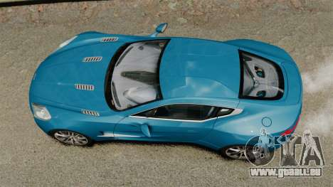 Aston Martin One-77 für GTA 4 rechte Ansicht