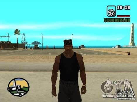 Mike Rammstein pour GTA San Andreas quatrième écran