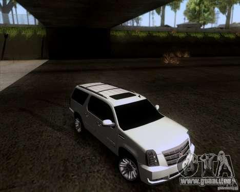 Cadillac Escalade ESV Platinum 2013 für GTA San Andreas