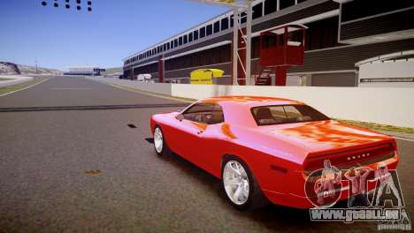 Dodge Challenger RT 2006 pour GTA 4 Vue arrière de la gauche