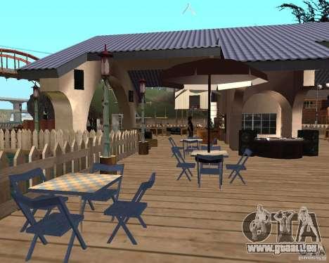 Villa in der Fischerei-Lagune für GTA San Andreas fünften Screenshot