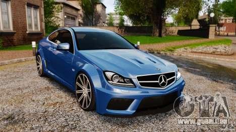 Mercedes-Benz C 63 AMG pour GTA 4