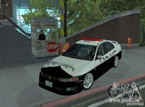Mitsubishi Galant Police für GTA San Andreas