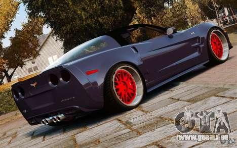 Chevrolet Corvette ZR1 pour GTA 4 est une gauche