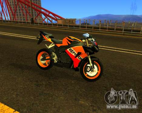 HONDA CBR 1000RR Repsol pour GTA San Andreas