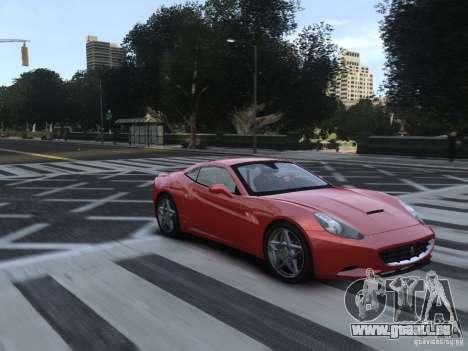 Ferrari California 2009 pour GTA 4 Vue arrière
