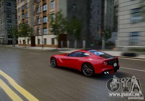 Ferrari F12 Berlinetta 2013 pour GTA 4 est un côté