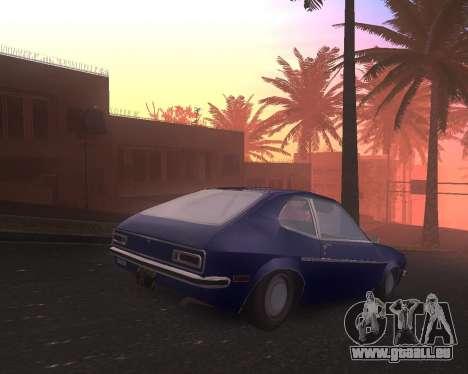 Ford Pinto 1973 Final pour GTA San Andreas laissé vue