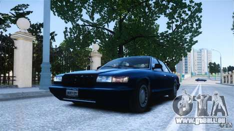 Civilian Taxi - Police - Noose Cruiser für GTA 4